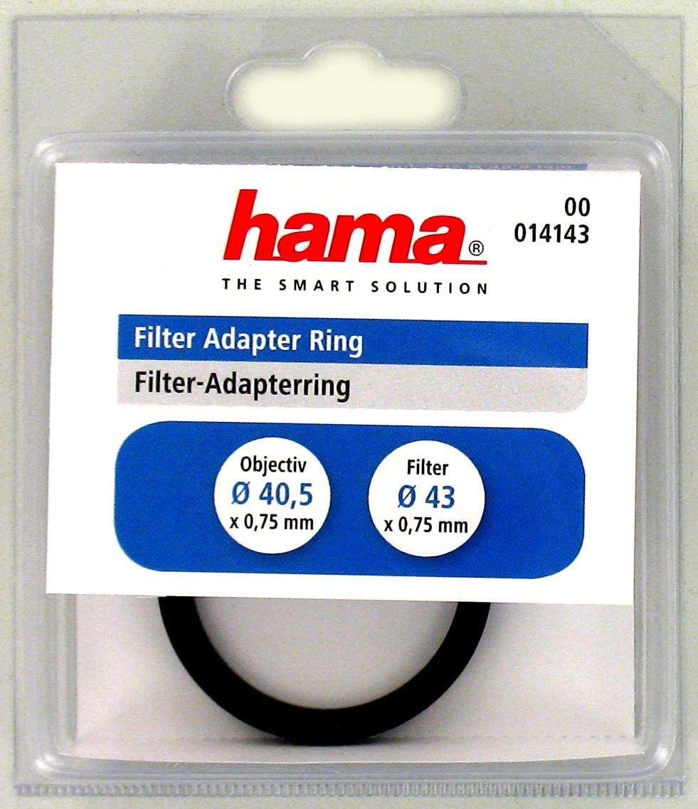 Hama Filter Adapter Ring for 37mm Lens and 52mm Filter