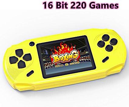 Amazon.es: Bornkid Consola de Juegos de Mano de 16 bits para Niños ...