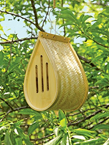 Gardener's Supply Company Woven Bamboo Butterfly House - coolthings.us