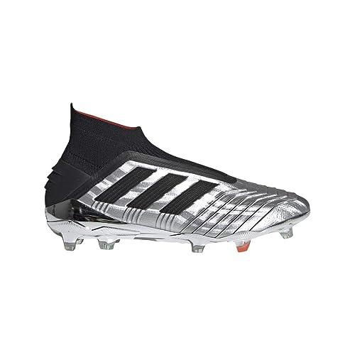 ADIDAS scarpe da calcio predator 19.3 fg argento nero
