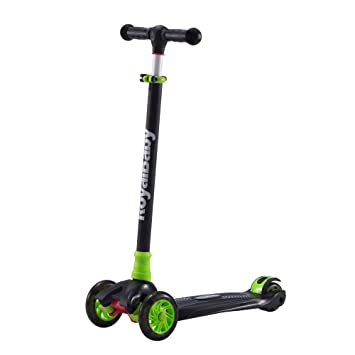 Amazon.com: Royalbaby Scooter para niños, verde/negro ...