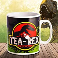 MDI Australia RO-GCM_TR Tea Rex Giant Mug Tea Rex Giant Ceramic Coffee Tea Mug, Multicolored