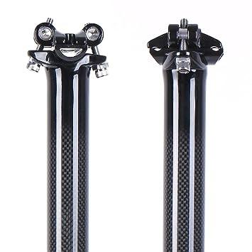 Tija de carbono para sillín de bicicleta, de LRG (27/31/32 x 350 ...