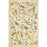 Safavieh Chelsea Collection HK178A Hand-Hooked Ivory and Multi Premium Wool Area Rug (7'9″ x 9'9″) Review