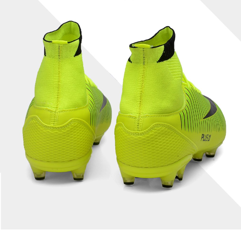 b205ceae1 ZIITOP Kids Football Boots Unisex High Top Soccer Shoes Boys Professional  Spike Training Shoes Outdoor Sneakers larger image