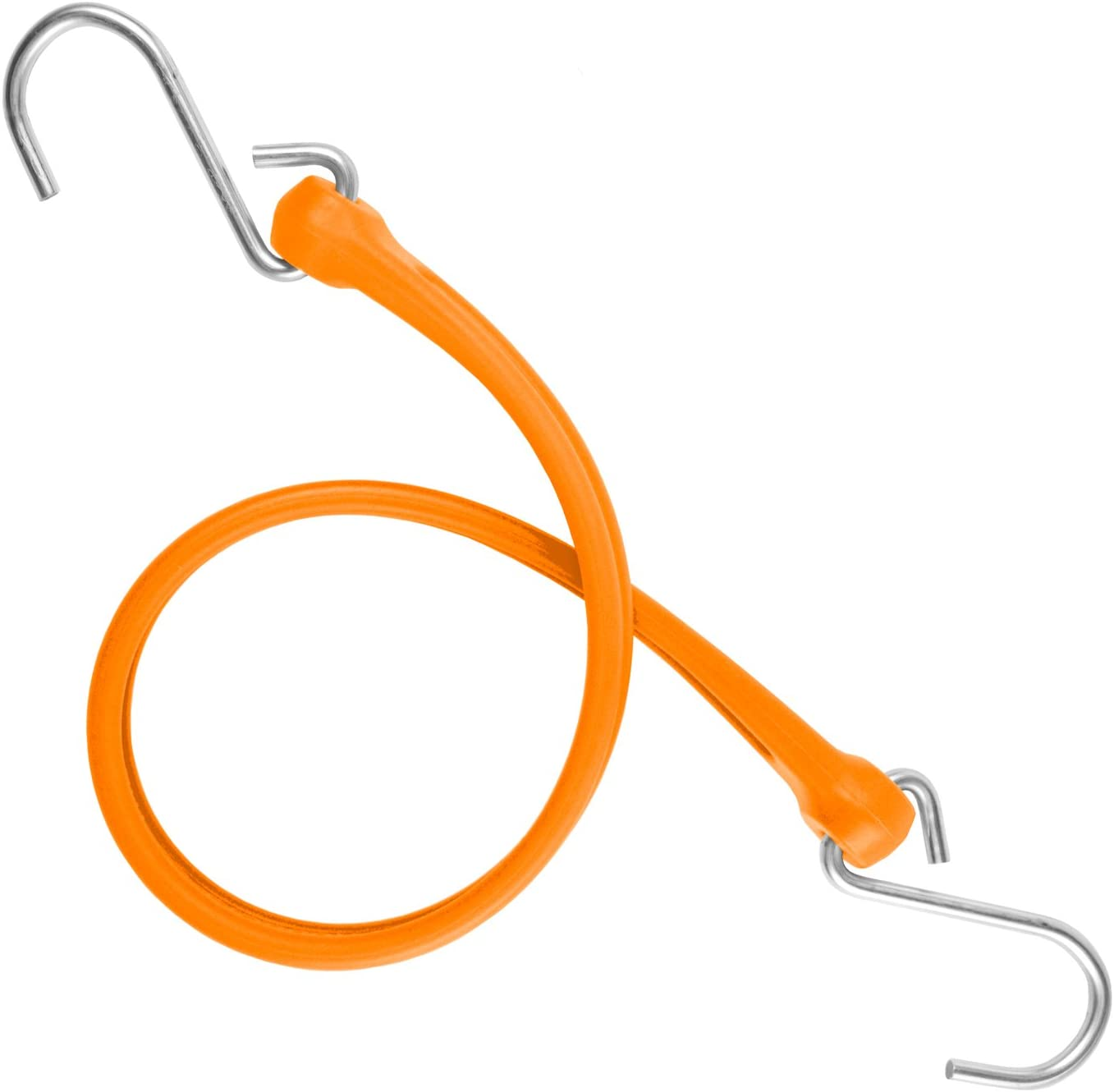 24 Red The Perfect Bungee by BihlerFlex PBSH24R Standard Duty Strap with Stainless Steel Hook