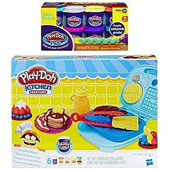 play doh kitchen creations breakfast bakery set