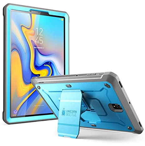 SUPCASE [Unicorn Beetle PRO Series] Case for Galaxy Tab S4 with Built-in  Screen Protector Full-Body Kickstand Rugged Protective Case for Samsung