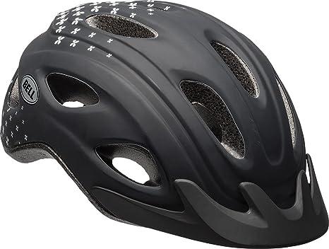 6d7e6156398 Amazon.com : Bell Curve Women's Helmet, Black Petals : Sports & Outdoors