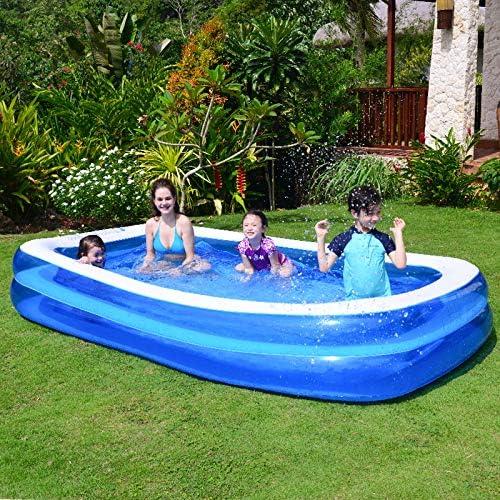 Acreny - Piscinas hinchables para niños y adultos, piscina hinchable familiar para niños, adultos y bebés, para exterior y jardín.: Amazon.es: Hogar