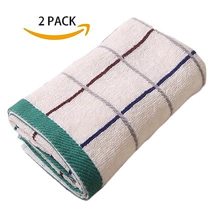 Tamengi toallas de cara de 2 unidades – 100% algodón Toallitas uso para baño,