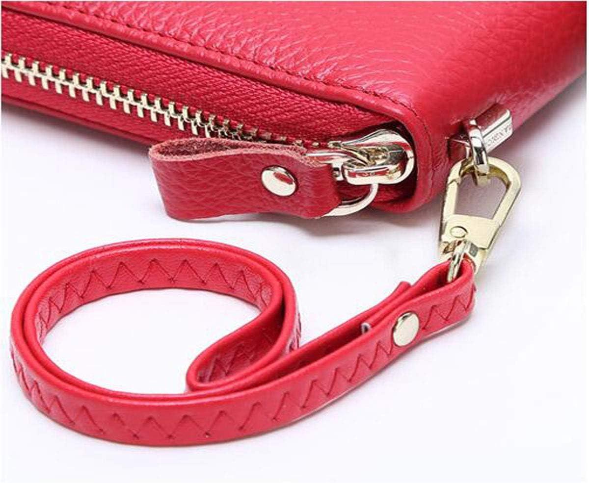 Color : Light Blue, Size : 7.60.83.6 inch cm Extra Capacity Travel Wallet Black Color Size 19 2 9 Suitable for Women Zipper Multi-Function Large-Capacity Wallet Kalmar Wallet