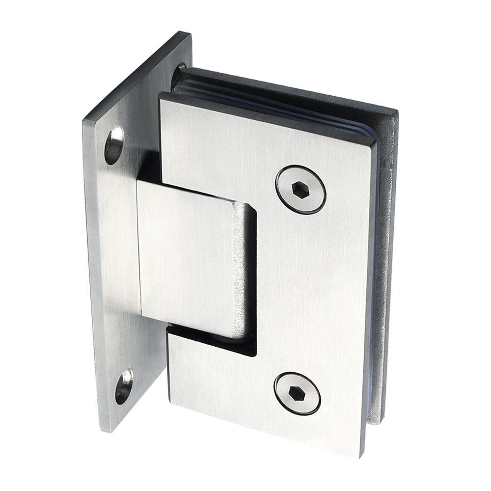 CBL6600-C Sayayo 180 Degree Glass Door Cupboard Showcase Cabinet Clamp Glass Shower Doors Hinge Stainless Steel Chrome Finished