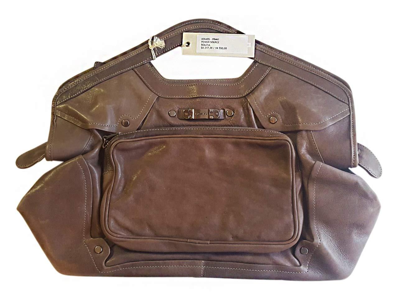 Diesel Handbag 00XA95PR441T2154 Bagage Cabine, 32 cm, 6 liters, Gris (Grau)