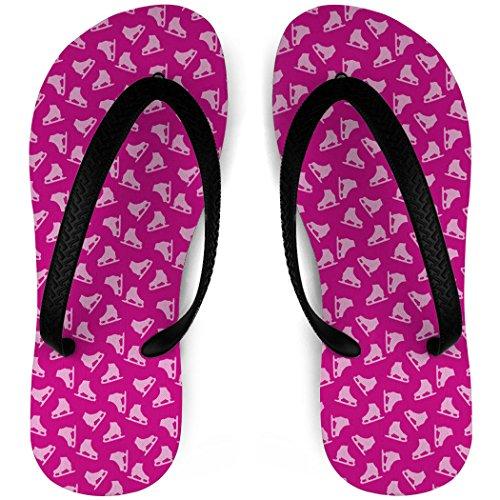 Konståkning Flip Flops Figur Skridskor Pink
