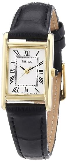 Seiko Reloj Analógico de Cuarzo para Mujer con Correa de Piel - SXGN56P1   Amazon.es  Relojes 4ba8fd52245d