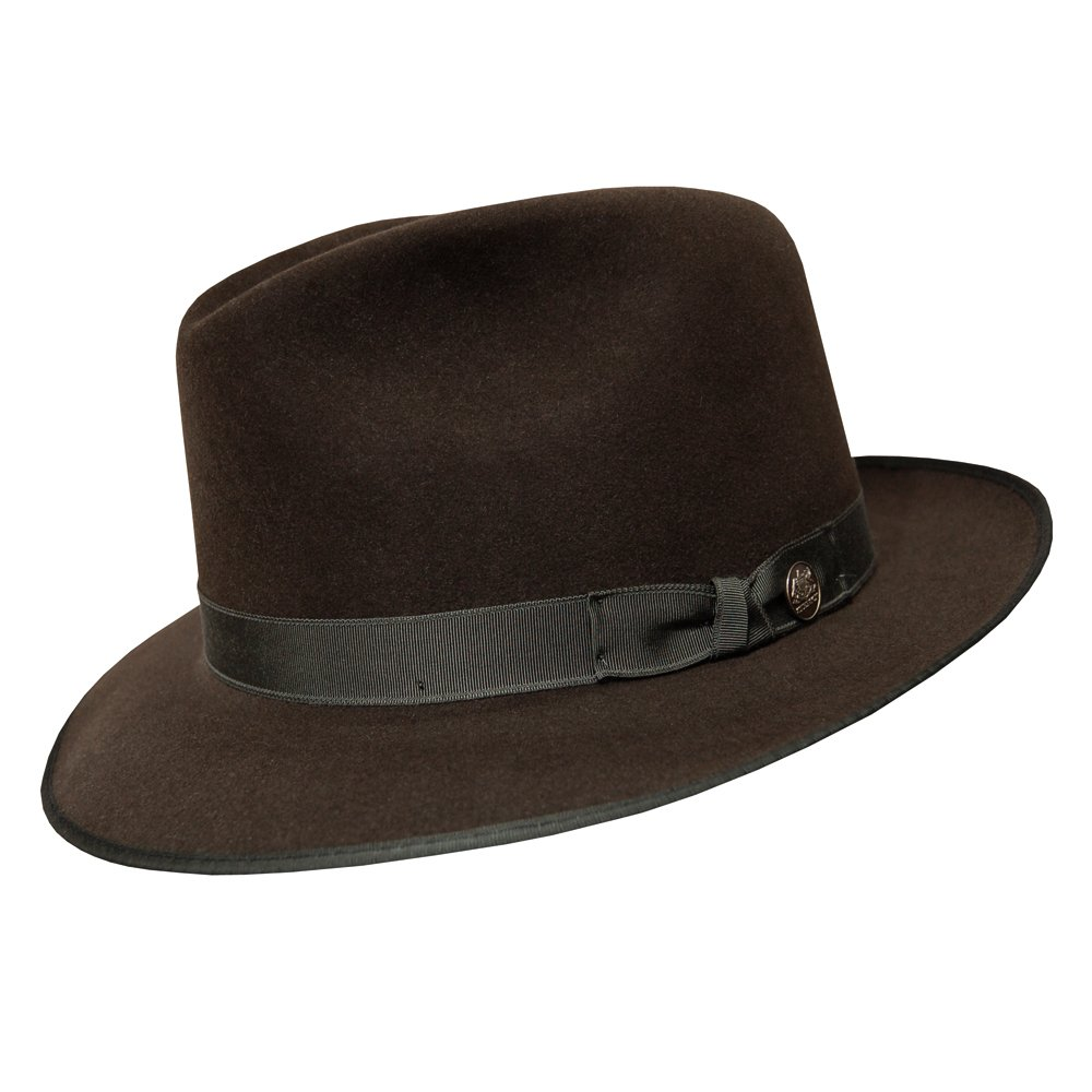Stetson Runabout Packable Fedora Hat - Sage - M
