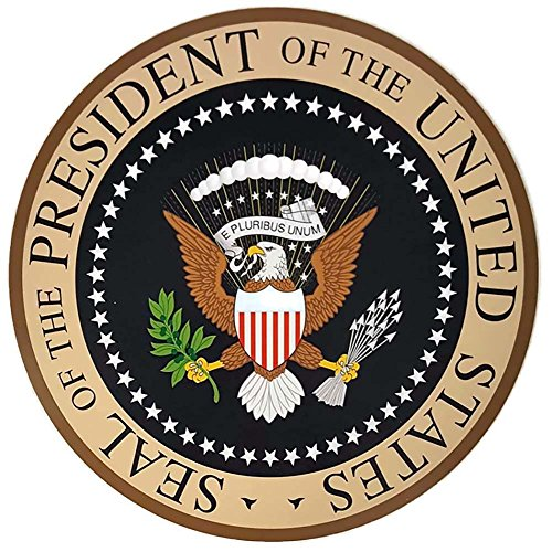 Presidential Seal Wall Plaque Lightweight Easy Hang 14