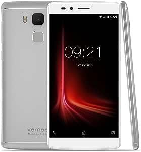 Vernee Apollo Lite 4G Lte - Smartphone Android 6.0 (Mtk6797 Helio X20 Deca Core 5.5 2.5D Fhd Pantalla, 4Gb +32Gb, 5Mp+16Mp Cámara, 4K Vídeo, Fingerprint Id Carga Rápida, Otg Type C):