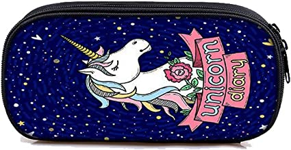 Einhorn Federmäppchen Schlampermäppchen Schulmäppchen Mäppchen Faulenzer Unicorn