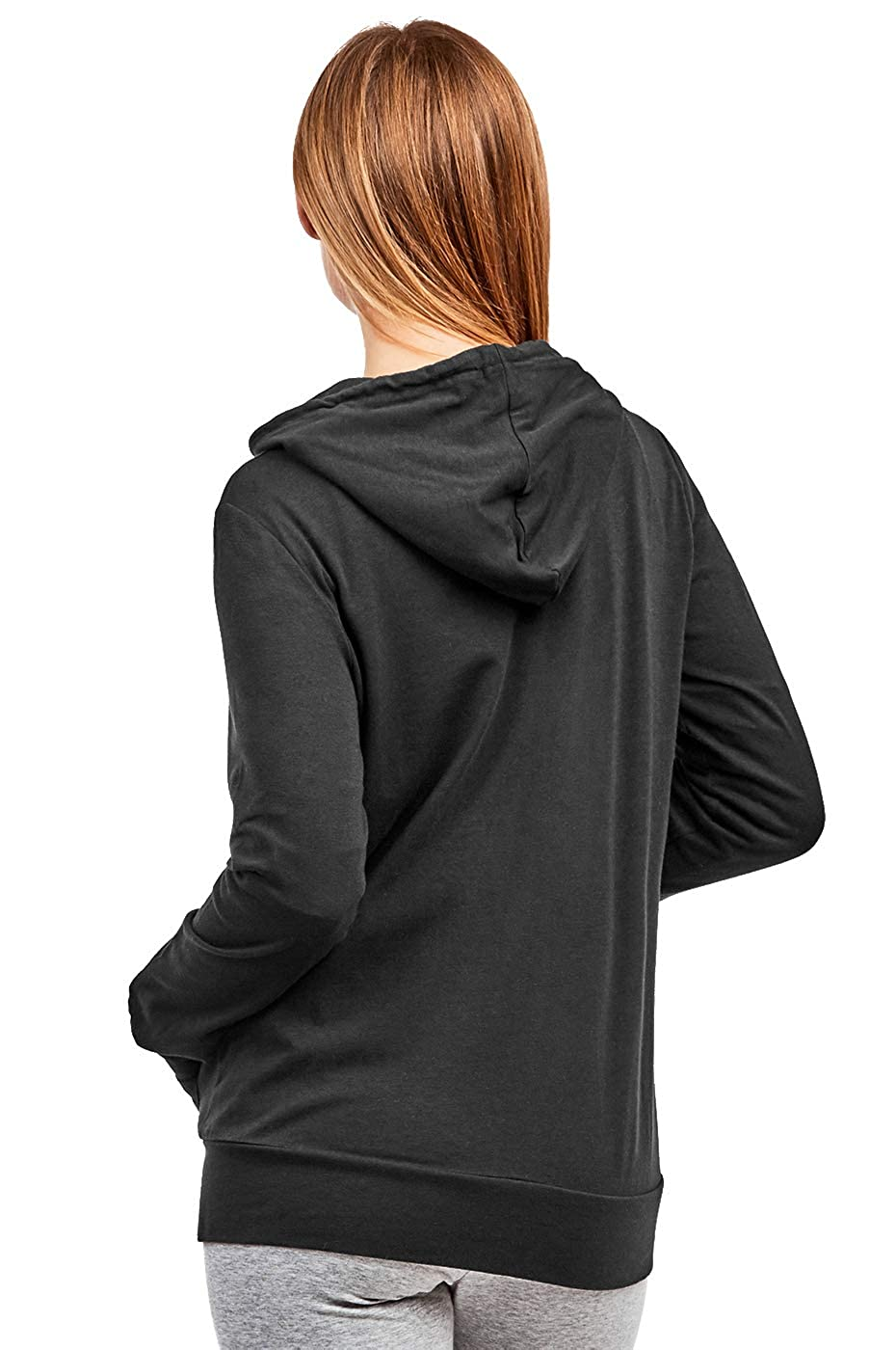 Amazon.com: Chaqueta con capucha para mujer con cremallera ...
