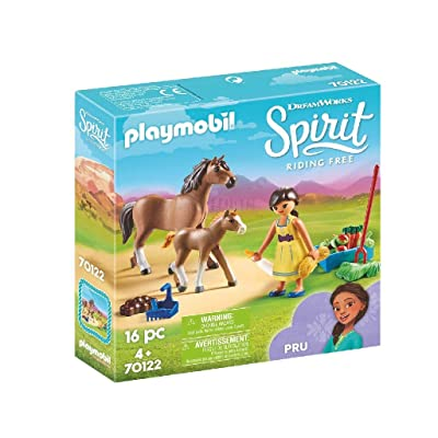 PLAYMOBIL Spirit Riding Free PRU with Horse & Foal: Toys & Games
