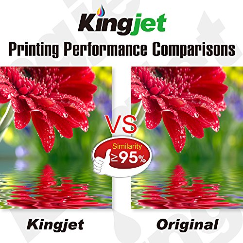 Kingjet Compatible Ink Cartridge Replacement for 950XL 951XL Work with Officejet Pro 8100 8600 8610 8615 8620 8625 8630 Printers, (1Set+1BK) with Updated Chips by Kingjet (Image #6)