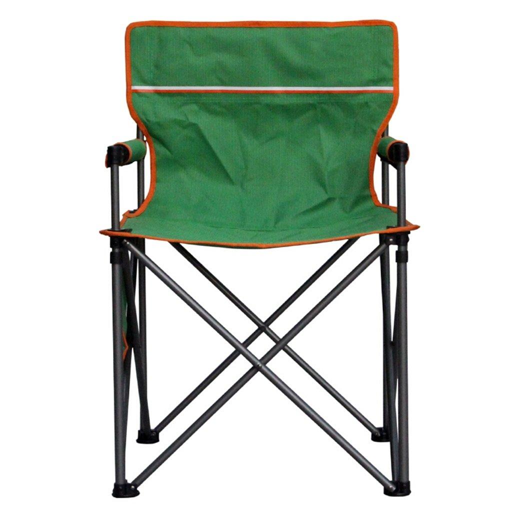 ベンチ キャンプ折りたたみ椅子屋外釣りポータブルビーチ超軽い背もたれの椅子緑 (A++) B07DB5YWY6