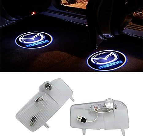 For C4 QJZoncuji 2 St/ücke Autot/ür Licht Geist Schatten Licht Logo Projektor Einstiegsbeleuchtung