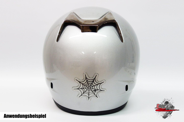 Autocollant 3D 910027 /Étiquette de v/élo forme de toile daraign/ée 2 protection autocollant d/éco