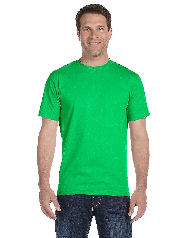 Gildan Adult DryBlend Sports T-Shirt M Pack of 12 Electric Green