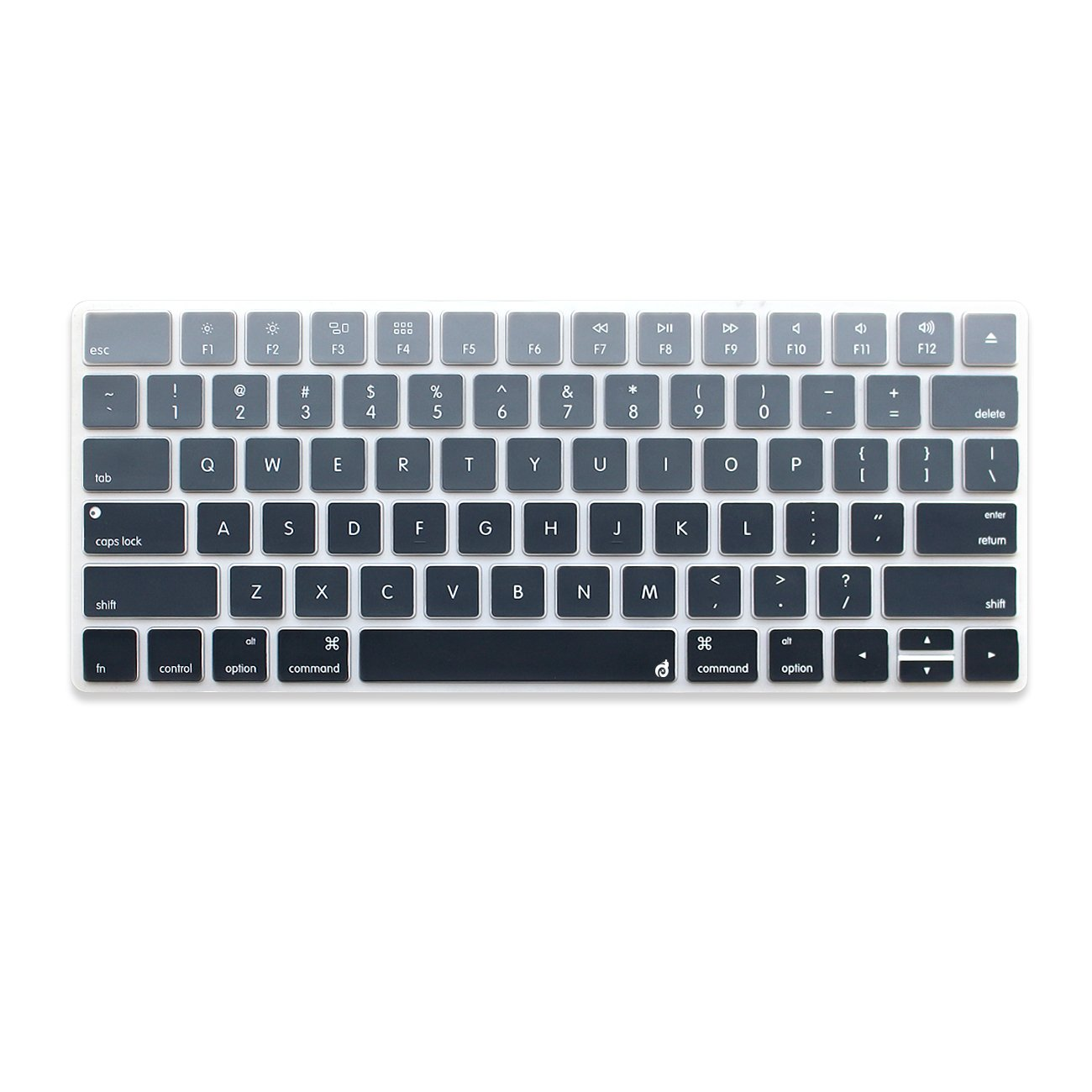 Masino® Silicone Keyboard Cover Ultra Thin Keyboard Skin for Apple Magic Keyboard (MLA22LL/A) (White)