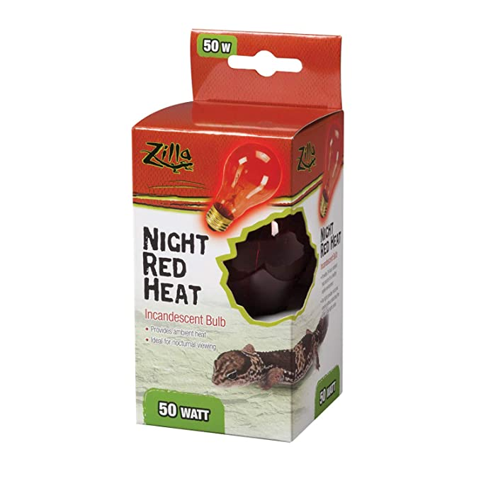 Amazon.com: Zilla foco de calor incandescente, rojo (Night ...