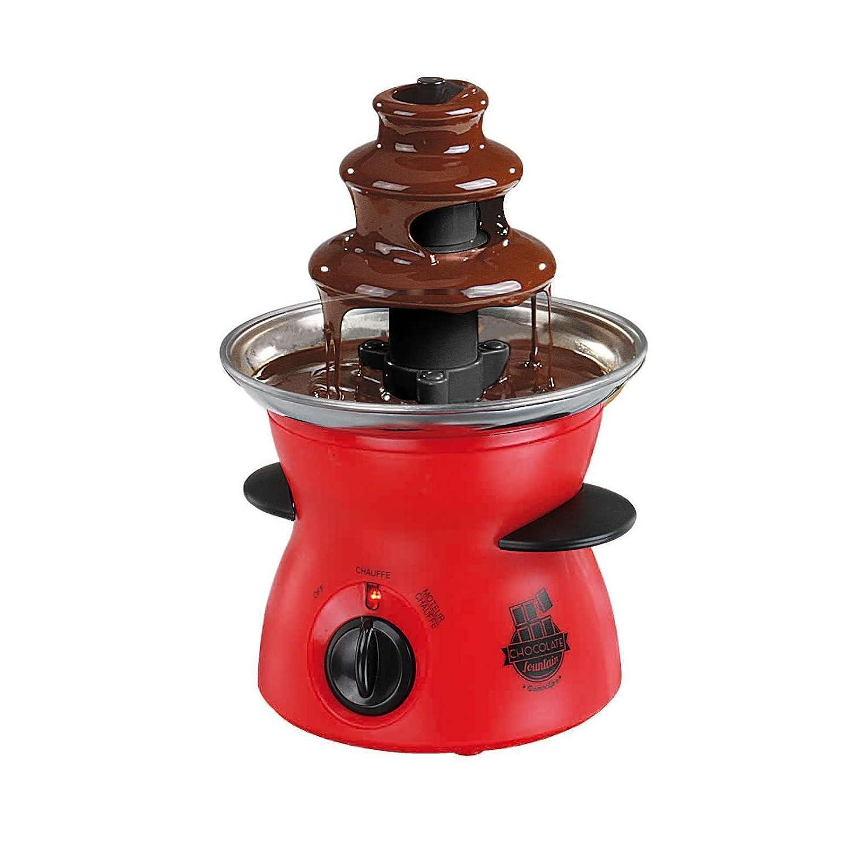 Fontana di cioccolato drehend cioccolato Fontana 300/ML regolatore di temperatura Fontana di cioccolato, Fontana di cioccolato, spia luminosa, Rosso
