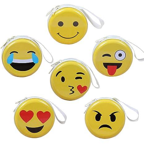 Monedero Emoji Mini para niños, Monedero Bandeja Monedero ...