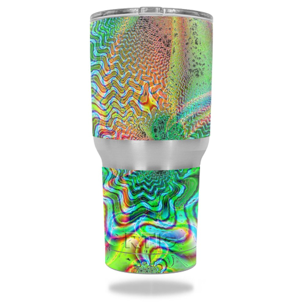 MightySkins Protective Tumbler sticker Psychedelic Image 1