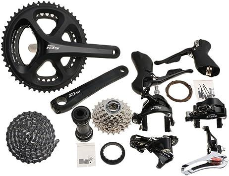 Shimano 105 5800 bicicleta transmisión kit de repuestos 39-53T 175 ...
