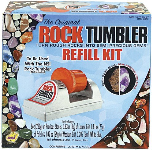 Classic Crafts Rock Tumbler Classic Refill by NSI NSI Intl