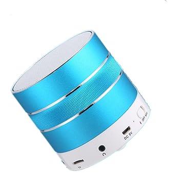 Engshwn mini portátil inalámbrico Bluetooth altavoz potente sonido, 1500mAh batería micrófono incorporado, funciona con