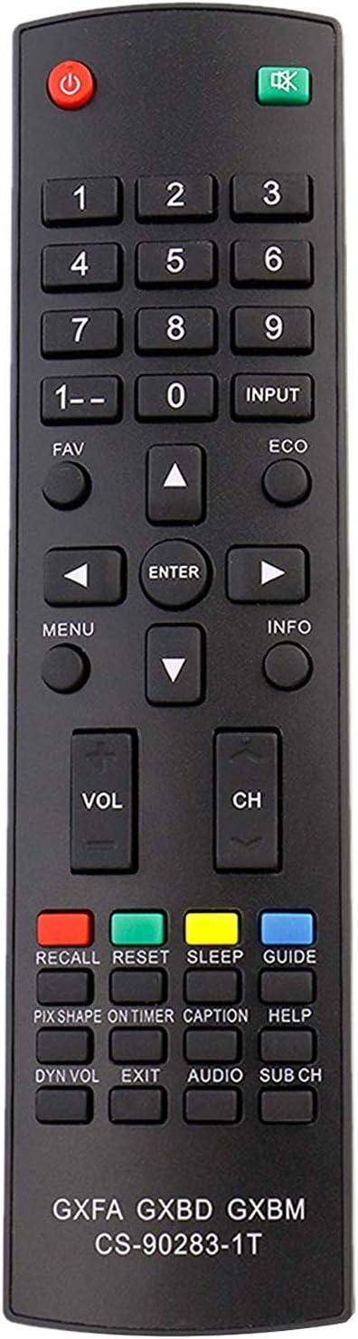 New GXFA GXBD GXBM CS-90283-1T Remote Control fit for Sanyo Smart LCD LED TV DP19648 DP26640 DP26648 DP26649 DP32648 DP32649 DP37649 DP37819 DP39842 DP39843 DP39E23 DP42848 DP42849 DP46812 DP19649