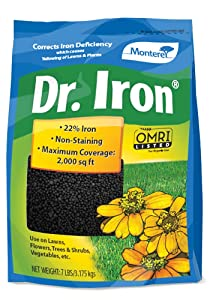Monterey LG7115 Dr Soil Acidifier Granules Iron and Elemental Sulfur Acidic Fertilizer, 7 lb