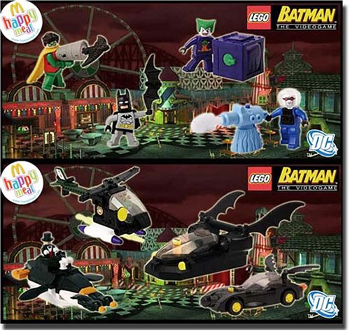 2008 LEGO BATMAN MINIFIGURES SET OF 8 EXCLUSIVE VIDEO GAME CHARACTER ...