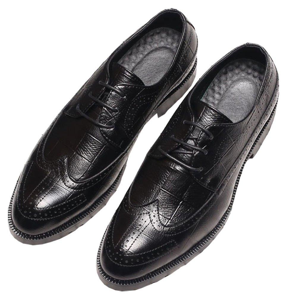 CMM Men's Original Grand Wingtip Oxford 12in Black