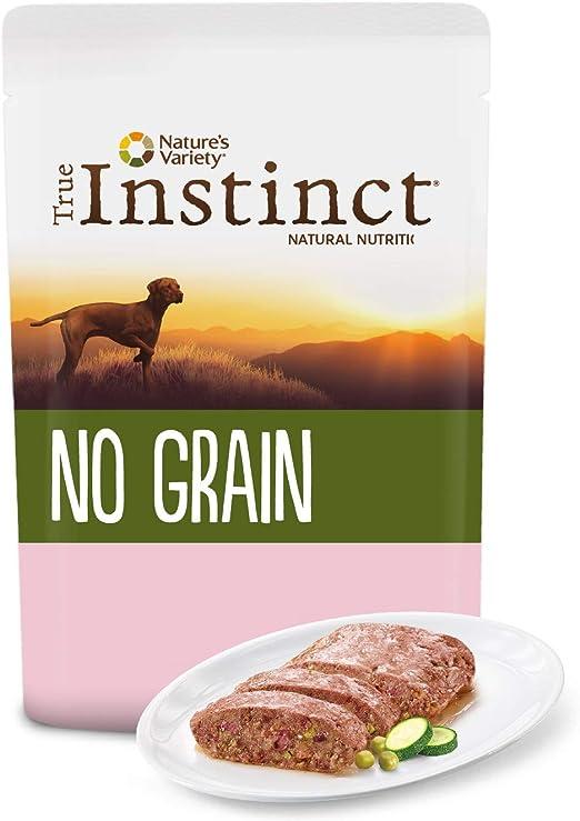 Oferta amazon: True Instinct No Grain Terrina sin Cereales para Perros Medium-Maxi Adult con Salmón y Verduras - 8 x 300 gr