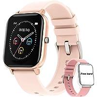 Salandens Smartwatch Pulsera Inteligente,reloj deportivo Impermeable IPX7 Pantalla completa táctil monitores de…