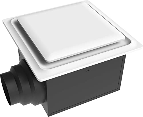 Aero Pure ABF80 G15 W ABF80G15 Ceiling Mount 80 CFM, Energy Star Certified, White Quiet Bathroom Ventilation Fan