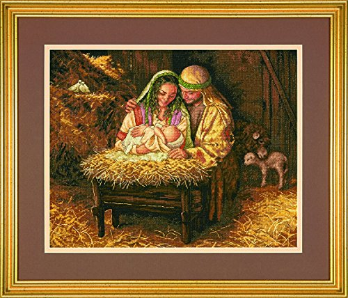 Love Cross Stitch (Dimensions Crafts 70-08933 Needlecraft Light of Love in Counted Cross Stitch)