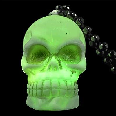 blinkee LED Soft Skeleton Skull Bead Necklace by: Toys & Games