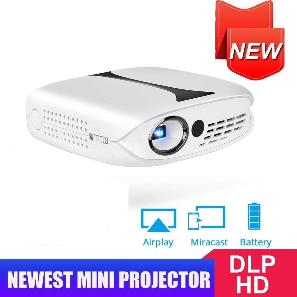YZPTYY 3D Smart Mini Proyector portátil, proyector Opcional ...