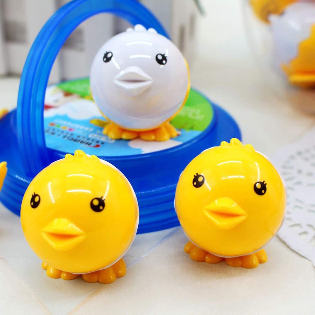Random Colors Hillento 15Pcs Novelty Cartoon Animal Owl Pattern Two-Holes Pencil Sharpeners Creative Stationery Sharpener for Kids Classroom Use